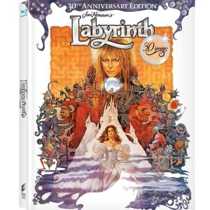 LABYRINTH - Ο ΛΑΒΥΡΙΝΘΟΣ [4K ReMASTERED] 30th Anniversary Limited Edition Digibook (BLU-RAY)