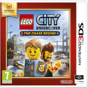 LEGO CITY UNDERCOVER THE CHASE BEGINS - SELECTS (3DS, DS)