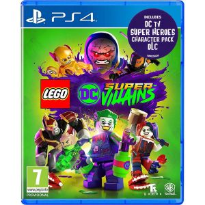 LEGO DC SUPER - VILLAINS + DAY 1 PreORDER BONUS DC TV SUPER HEROES CHARACTER PACK (PS4)