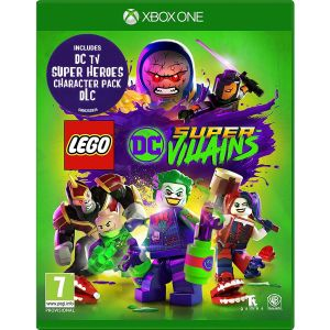 LEGO DC SUPER - VILLAINS + DAY 1 PreORDER BONUS DC TV SUPER HEROES CHARACTER PACK (XBOX ONE)