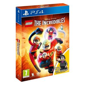 LEGO THE INCREDIBLES + DAY 1 Mini Figure Limited Edition (PS4)