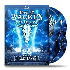 LIVE AT WACKEN 2015 - 26 YEARS LOUDER THAN HELL (2016) (2 BLU-RAY + 2 DVD)