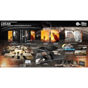 LOGAN Theatrical & Noir Limited Collector's Numbered Edition Steelbook + BOOKLET + Puzzle & Character CARDS (2 BLU-RAY)