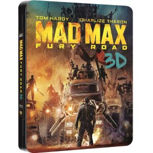 MAD MAX: FURY ROAD 3D - MAD MAX: Ο ΔΡΟΜΟΣ ΤΗΣ ΟΡΓΗΣ 3D Limited Collector's Edition Futurepak (BLU-RAY 3D + BLU-RAY)