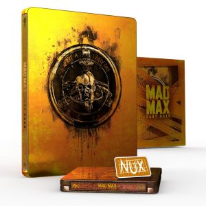 MAD MAX: FURY ROAD 4K+2D Black & Chrome Limited Edition Titans Of Cult Steelbook (4K UHD BLU-RAY + 2 BLU-RAY)