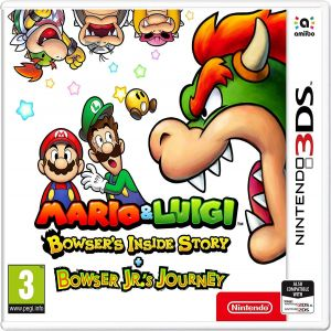 MARIO & LUIGI: BOWSER'S INSIDE STORY + BOWSER JR'S JOURNEY (3DS, 2DS)
