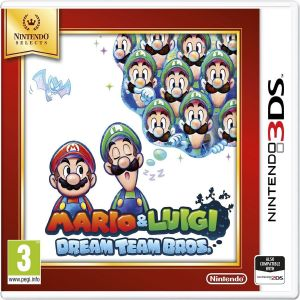 MARIO & LUIGI DREAM TEAM BROS - SELECTS (3DS, 2DS)