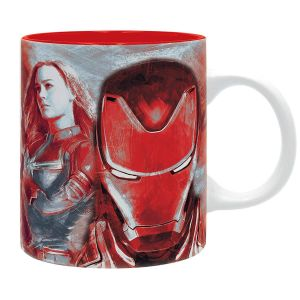 MARVEL - AVENGERS: END GAME Heroes Red MUG 320ml (ABYMUG590)
