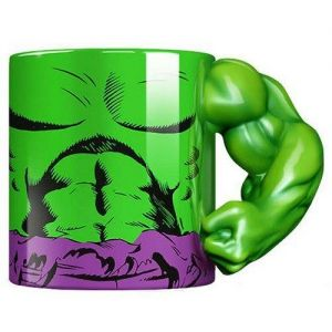 MARVEL - HULK MUG WITH 3D ARM