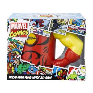 MARVEL - IRON MAN MUG WITH 3D ARM