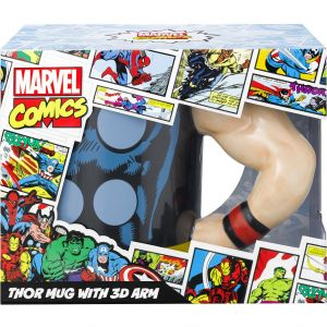 MARVEL - THOR MUG WITH 3D ARM