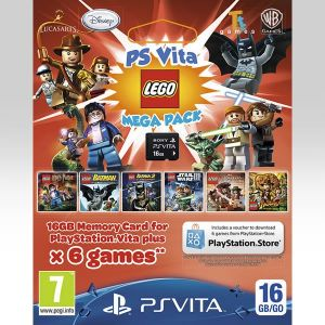 MEGA PACK LEGO VOUCHER + SONY OFFICIAL PS VITA MEMORY CARD 16GB - MEGA PACK LEGO ΚΟΥΠΟΝΙ + SONY PS VITA ΕΠΙΣΗΜΗ ΚΑΡΤΑ ΜΝΗΜΗΣ 16GB (PS VITA)