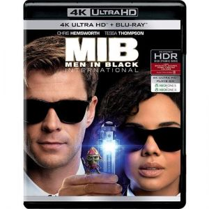 MEN IN BLACK 4: INTERNATIONAL 4K+2D (4K UHD BLU-RAY + BLU-RAY 2D)