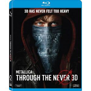 METALLICA: THROUGH THE NEVER 3D (BLU-RAY 3D/2D)
