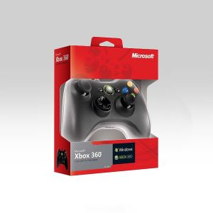 MICROSOFT OFFICIAL WIRED CONTROLLER  WINDOWS COMMON WINDOWS Black (PC, XBOX 360)