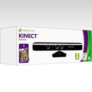 MICROSOFT OFFICIAL XBOX 360 KINECT SENSOR with KINECT ADVENTURES - MICROSOFT XBOX 360 ΕΠΙΣΗΜΟΣ ΑΙΣΘΗΤΗΡΑΣ KINECT με KINECT ADVENTURES (XBOX 360)