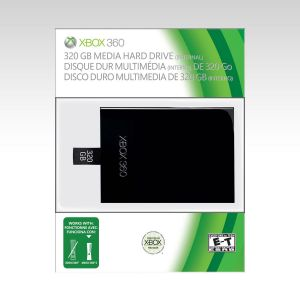 MICROSOFT OFFICIAL XBOX 360 MEDIA HARD DRIVE 320GB - MICROSOFT XBOX 360 ΕΠΙΣΗΜΟΣ ΣΚΛΗΡΟΣ ΔΙΣΚΟΣ ΠΟΛΥΜΕΣΩΝ 320GB (XBOX 360)