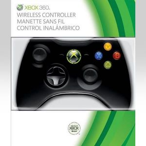 MICROSOFT OFFICIAL XBOX 360 WIRELESS CONTROLLER Black - MICROSOFT ΕΠΙΣΗΜΟ  XBOX 360 ΑΣΥΡΜΑΤΟ ΧΕΙΡΙΣΤΗΡΙΟ ΜΑΥΡΟ (XBOX 360)