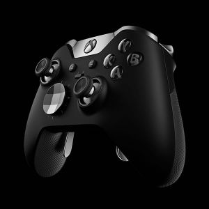 MICROSOFT OFFICIAL XBOX ONE ELITE WIRELESS CONTROLLER Black - MICROSOFT ΕΠΙΣΗΜΟ XBOX ONE ELITE ΑΣΥΡΜΑΤΟ ΧΕΙΡΙΣΤΗΡΙΟ ΜΑΥΡΟ HM3-00005 (XBOX ONE, PC)