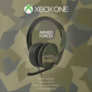 MICROSOFT OFFICIAL XBOX ONE STEREO HEADSET Armed Forces Camouflage - MICROSOFT ΕΠΙΣΗΜΑ XBOX ONE ΣΤΕΡΕΟΦΩΝΙΚΑ ΑΚΟΥΣΤΙΚΑ ΠΑΡΑΛΛΑΓΗΣ Limited Special Edition (XBOX ONE)