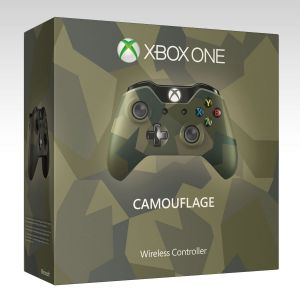 MICROSOFT OFFICIAL XBOX ONE WIRELESS CONTROLLER Armed Forces Camouflage - MICROSOFT ΕΠΙΣΗΜΟ XBOX ONE ΑΣΥΡΜΑΤΟ ΧΕΙΡΙΣΤΗΡΙΟ ΠΑΡΑΛΛΑΓΗΣ Limited Special Edition (XBOX ONE)