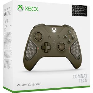 MICROSOFT OFFICIAL XBOX WIRELESS CONTROLLER 3.5-mm Audio Jack COMBAT TECH - MICROSOFT ΕΠΙΣΗΜΟ XBOX ΑΣΥΡΜΑΤΟ ΧΕΙΡΙΣΤΗΡΙΟ 3.5-mm Audio Jack COMBAT TECH (XBOX ONE, XBOX ONE S, WINDOWS)