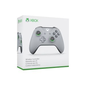 MICROSOFT OFFICIAL XBOX WIRELESS CONTROLLER 3.5-mm Audio Jack GREY/GREEN - MICROSOFT ΕΠΙΣΗΜΟ XBOX ΑΣΥΡΜΑΤΟ ΧΕΙΡΙΣΤΗΡΙΟ 3.5-mm Audio Jack ΓΚΡΙ/ΠΡΑΣΙΝΟ (XBOX ONE, XBOX ONE S, WINDOWS)