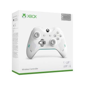 MICROSOFT OFFICIAL XBOX WIRELESS CONTROLLER 3.5-mm Audio Jack SPORT WHITE (XBOX ONE, XBOX ONE S, WINDOWS)