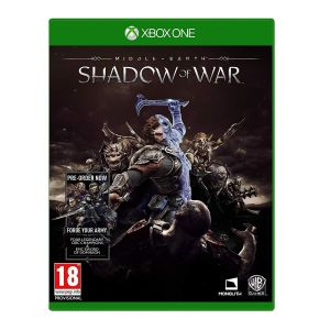 MIDDLE EARTH: SHADOW OF WAR + DAY 1 PreORDER BONUS Forge Your Enemy (XBOX ONE)