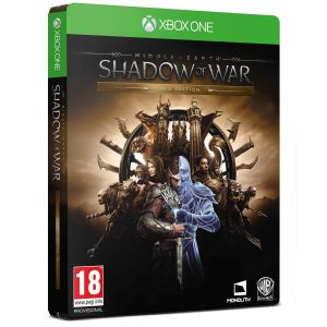 MIDDLE EARTH: SHADOW OF WAR - GOLD EDITION Steelbook (XBOX ONE)