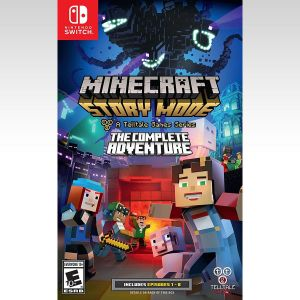 MINECRAFT STORY MODE: THE COMPLETE ADVENTURE (NSW)
