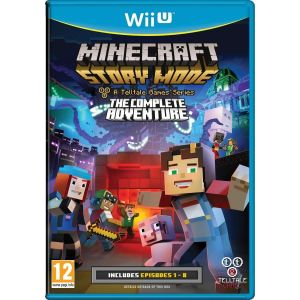 MINECRAFT: STORY MODE - THE COMPLETE ADVENTURE (Wii U)
