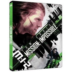 MISSION IMPOSSIBLE 2 4K+2D Limited Edition Steelbook (4K UHD BLU-RAY + BLU-RAY 2D)