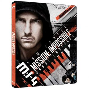 MISSION IMPOSSIBLE 4: GHOST PROTOCOL 4K+2D Limited Edition Steelbook (4K UHD BLU-RAY + BLU-RAY 2D)