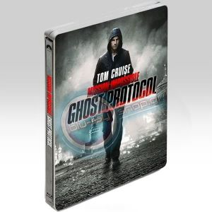 MISSION IMPOSSIBLE 4: GHOST PROTOCOL STEELBOOK Combo - ΕΠΙΚΙΝΔΥΝΗ ΑΠΟΣΤΟΛΗ 4: ΠΡΩΤΟΚΟΛΟ ΦΑΝΤΑΣΜΑ STEELBOOK Combo (BLU-RAY + DVD)
