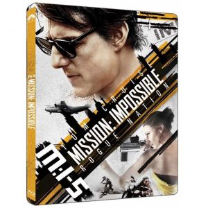 MISSION IMPOSSIBLE 5: ROGUE NATION 4K+2D - ΕΠΙΚΙΝΔΥΝΗ ΑΠΟΣΤΟΛΗ 5: ΜΥΣΤΙΚΟ ΕΘΝΟΣ 4K+2D Limited Edition Steelbook (4K UHD BLU-RAY + BLU-RAY 2D)