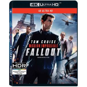 MISSION IMPOSSIBLE 6: FALLOUT 4K (4K UHD BLU-RAY)