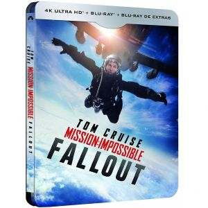 MISSION IMPOSSIBLE 6: FALLOUT 4K 4K+2D Limited Edition Steelbook (4K UHD BLU-RAY + BLU-RAY + BLU-RAY BONUS)