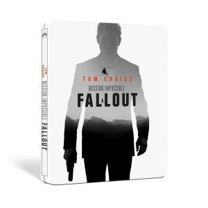 MISSION IMPOSSIBLE 6: FALLOUT Limited Edition Steelbook (BLU-RAY + BLU-RAY BONUS) + GIFT Steelbook PROTECTIVE SLEEVE