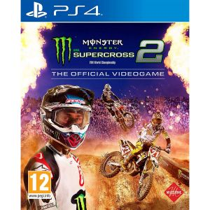 MONSTER ENERGY: SUPERCROSS 2 - THE OFFICIAL VIDEOGAME (PS4)