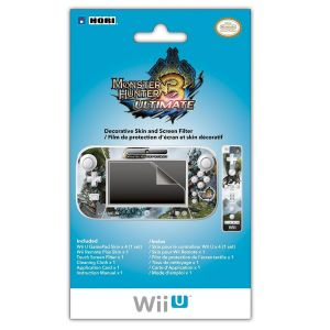 MONSTER HUNTER 3 ULTIMATE FILTER AND SKIN SET (Wii U)