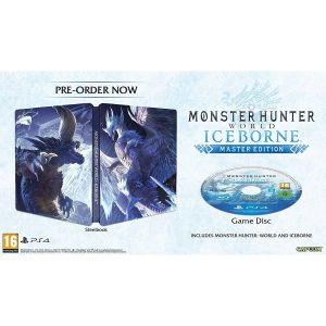 MONSTER HUNTER WORLD + ICEBORN Master Edition Steelbook (PS4)