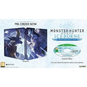 MONSTER HUNTER WORLD + ICEBORN Master Edition Steelbook (XBOX ONE)