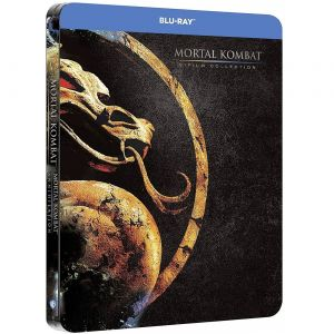 MORTAL KOMBAT 1 + MORTAL KOMBAT 2: ANNIHILATION Limited Edition 2-Film Collection Steelbook (2 BLU-RAY)
