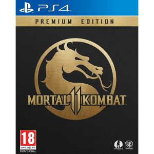 MORTAL KOMBAT 11 Premium Edition + DAY 1 PreORDER BONUS SHAO KAHN Playable Fighter (PS4)