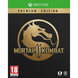 MORTAL KOMBAT 11 Premium Edition + DAY 1 PreORDER BONUS SHAO KAHN Playable Fighter (XBOX ONE)