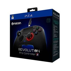 NACON - OFFICIAL LICENCED REVOLUTION PRO CONTROLLER v2 Black (PS4)