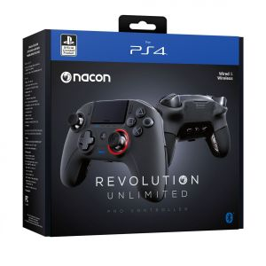 NACON - OFFICIAL LICENCED REVOLUTION UNLIMITED Pro CONTROLLER v3 Black (PS4)