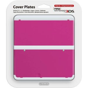 NEW NINTENDO 3DS COVERPLATE 019 Pink - ΡΟΖ (New 3DS)