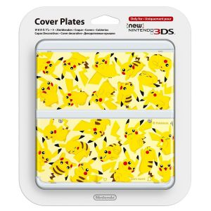 NEW NINTENDO 3DS COVERPLATE 022 Pikachu (New 3DS)